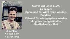 Jim Elliot - Gottes Art