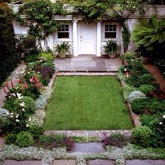 I Love This Small Simple Lawn Surrounded By Plants