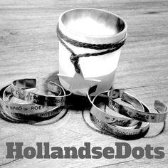 6 armbanden #1happyklant #handmade #HollandseDots