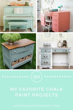 MY FAVORITE CHALK PAINT PROJECTS