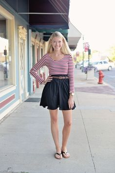 Solids & Stripes Dress