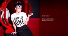 Cool line.  Stories... By Kelly Osbourne