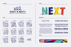 "Visual identity for ""What's Next? 2014"" on Branding Served"