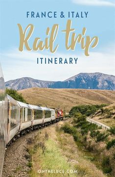 A two-week rail route through Southern France and Northern Italy, featuring historic cities, wine regions, pretty coastal towns and flower-decked canals. #ItalyVacation