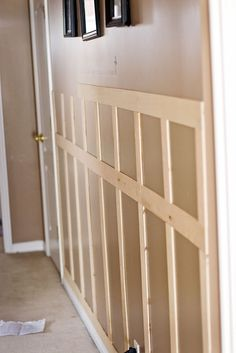 Easy And Cheap Diy Ideas: Simple Wainscoting Interior Design wainscoting living room columns.Wainscoting Board And Batten Trim Work wainscoting corners entry ways. Decor, Remodel, Bathrooms Remodel, Home Remodeling, Home Diy, Diy Wainscoting, Wainscoting Styles, Home Decor, Home Projects