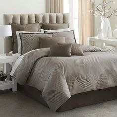 Modern Living Mercer 4-piece Cotton Comforter Set | Overstock™ Shopping - Great Deals on Comforter Sets