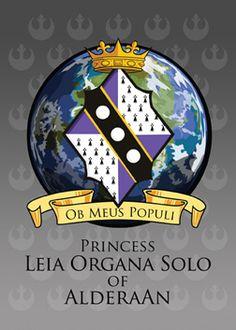 Ob Meus Populi - Princess Leia Organa Solo of Alderaan