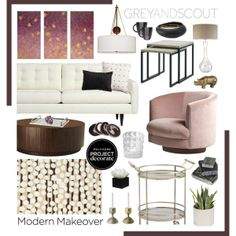 Modernize your space with pieces like these!