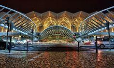 Lisboa - estação do Oriente por Calatrava