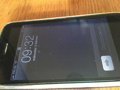 Devo essere sincero non mi ricordavo come fosse la schermata del vecchi #iPhone #vintage #style