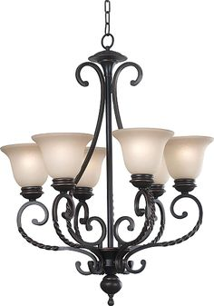 Buy the Kenroy Home Oil Rubbed Bronze Direct. Shop for the Kenroy Home Oil Rubbed Bronze Oliver 6 Light 1 Tier Chandelier and save. Lighting Inc, Home Lighting, Kitchen Lighting, Lighting Ideas, Rustic Chandelier, Chandelier Lighting, Bronze Chandelier, Iron Chandeliers, Forging Metal
