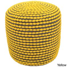 nuLOOM Handmade Casual Living Pouf (