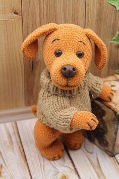 Crochet Animal Patterns, Stuffed Animal Patterns, Crochet Patterns Amigurumi, Amigurumi Doll, Crochet Animals, Crochet Dolls, Cute Crochet, Crochet For Kids, Crochet Baby