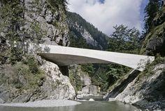 Schanerloch Bridge by Marte .Marte Architects