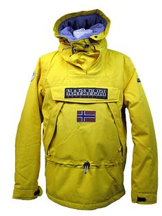 Napapijri Ski-Doo Arctic Parka. Amazing waterproof,insulated winter smok style parka-will protect you in the worst weather you can imagine Looks great too!