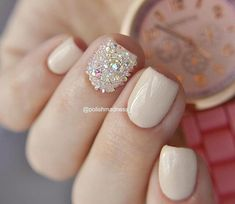 50 Classy Nail Designs with Diamond Ideas that will Steal the Show - 50 Classy Nail Designs with Diamonds that will Steal the Show - Classy Nail Designs, Pretty Nail Designs, Fall Nail Designs, Art Designs, Classy Nails, Cute Nails, Pretty Nails, My Nails, Diamond Nail Designs