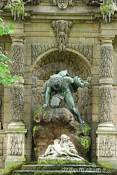 Medici Fountain at Luxembourg Garden Paris*