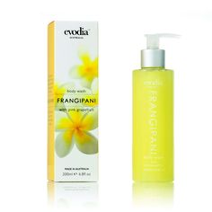Evodia Frangipani Body Wash Infused W/ Pink Grapefruit Case Pack 6 Pink Grapefruit, Body Wash, Packing, Coding, Aud, How To Make, Products, Bag Packaging, Programming