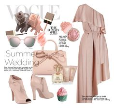 """SUMMER WEDDINGS"" by selmir ❤ liked on Polyvore featuring Zimmermann, RED Valentino, Fendi, Mansur Gavriel, Birchrose + Co., Vince Camuto, StreetStyle, chic and summerwedding"