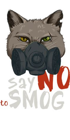 Say No to Smog design by Sweet Beet | Teequilla