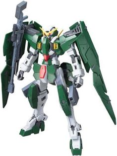 The GN-002 Gundam Dynames is the long-range sniping and infantry specialist in Season One of Mobile Suit Gundam 00 and piloted by Lockon Stratos.