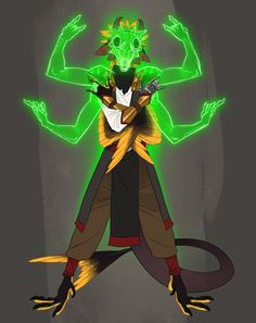 Kobold Monk Way of the astral self! (Astral Self Version) Made by the awesome Falconblade! Fantasy Character Design, Character Design Inspiration, Character Concept, Character Art, Fantasy Races, Fantasy Armor, Anime Fantasy, Dungeons And Dragons Characters, Dnd Characters
