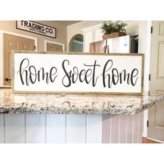 Hey, I found this really awesome Etsy listing at https://www.etsy.com/listing/279708318/home-sweet-home-sign-large-framed-sign