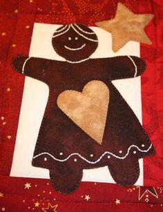 Anne-Grethes quiltblog: Julelunsj / Christmaslunch