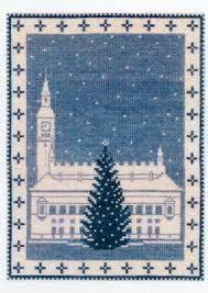 デンマークのクロスステッチⅣ『クリスマスの夜』