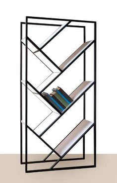 V Bookcase by Faktura ($1400) | Pinned to Tara Blais Davison