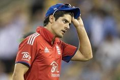 Alastair Cook is very upset after losing England ODI cricket team captaincy job. James Anderson told Cook was very upset after dropped from world cup team.