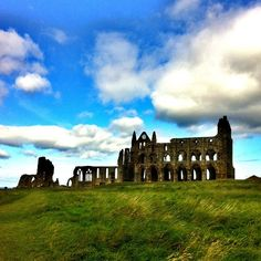 Whitby Abbey in Whitby, North Yorkshire