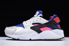 93130f6bda20 Women s Nike Air Huarache Qs White Game Royal-Black-Dynamic Pink Ah8049-100  Online