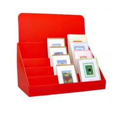 7 best card displays images on pinterest display ideas greeting 4 tier counter greeting card display made of cardboard is made for temporary promotions m4hsunfo