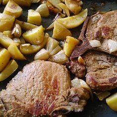 Kartoffeln à la Bocuse mit Kotelett von ErdbeerDaiquiri   Chefkoch Pot Roast, Steak, Ethnic Recipes, Food, Meat Dish, Potato, Food Portions, Food Food, Recipies