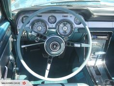 1967 Mustang - This was the interior I had.