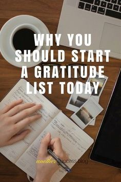 While the root of all evil is negative thoughts, the opposite is true for positive ones. An easy way to turn your into positive thoughts: a gratitude list