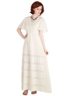 Women's Clothing Reliable Vintage 70s White Boho Hippie Dress Floral Print Lace Full Maxi Xxs Agreeable Sweetness