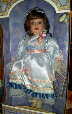 Porcelain Doll: Samantha Collection Limited Edition Fine Porcelain Doll -- Want additional info? Click on the image. Porcelain Doll, Fine Porcelain, Free, Dolls, Image, Painting, Collection, Baby Dolls, Puppet