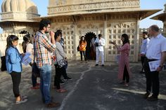Participants of World Living Heritage Festival 2016 visit Mardana Mahal   To know more about the event - http://www.eternalmewar.in/wlhf/index.shtml  #WLHF #WorldLivingHeritageFestival #Heritage #IndianFestivals #Culture #MewarHeritage #MewarHistory #UdaipurEvents #LivingHeritage #HolikaDahan #HolikaDahan2016 #EventsInUdaipur #MMCF #Udaipur #EternalMewar #Mewar #Rajasthan #India