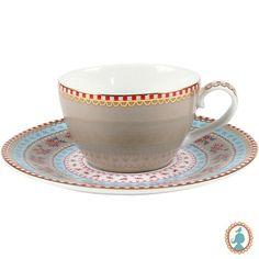 Aquele cafezinho após a refeição terá um sabor todo especial para seus familiares e amigos nesta xícara de café Caqui Floral. Muito elegante e requintada é uma excelente opção, também para presentear pessoas queridas a você. #Xícara #XícaraCafé #XícaraChá #LojaSoulHome