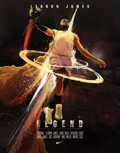 LeBron James Legend Movie Poster