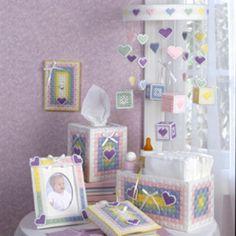 Sweetheart Nursery Plastic Canvas ePattern