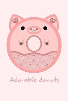 Monogram Stickers, Cute Stickers, Kawaii Pig, Pink Panter, Pig Images, Pig Cookies, Pig Wallpaper, Pig Crafts, Pig Drawing