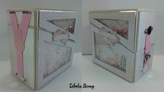 Tutorial caja doble Shaker pintada - YouTube Baby Album, Decorative Boxes, Make It Yourself, Youtube, Blog, Minis, Albums, Scrapbooking, Cartonnage