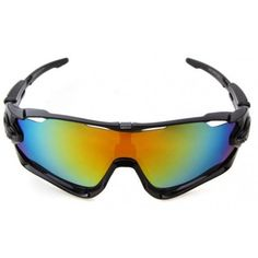4eb75fa9d2 Cheap Oakley Sunglasses Jawbreaker Black Frame Fire Ice Blue Iridium Lens
