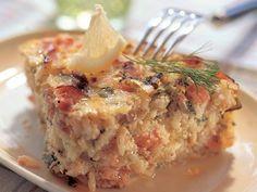Kesäinen lohiriisilaatikko | Yhteishyvä Easy Cooking, Cooking Recipes, Lasagna, Risotto, Mashed Potatoes, Recipies, Food And Drink, Fish, Dinner