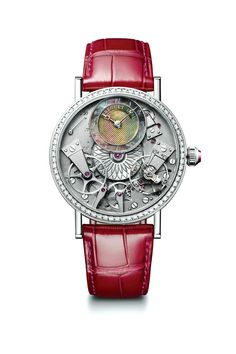 The Breguet Tradition Dame 7038 snatches the Revolution 2016 Best Women's watch award.  #revolutionawards #revolutionmagazine #breguet #watchmaking #horology #timepieces