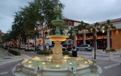 West Palm Beach - City Place Fountain