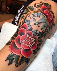 Pocket Watch Tattoo_